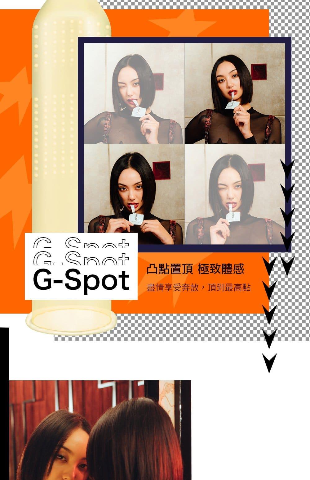 G-SPOT G點型保險套 4